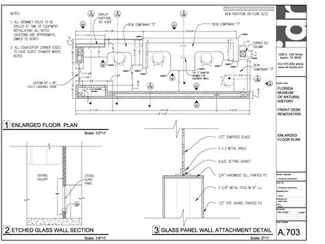 Reception Desk Details Woodworking Plans Drawing Desks Pdf Idolza