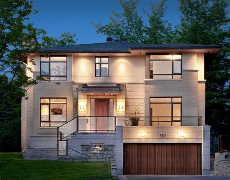 modern home design ottawa denbury contemporary exterior ottawa by roca homes