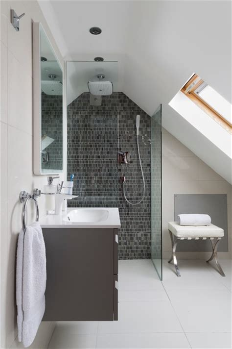 bathroom in loft conversion loft conversion bathroom contemporary bathroom
