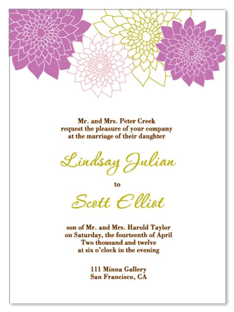 wedding invitation wording venue same wedding invitation wording for reception and ceremony at