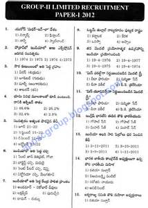 General Paper Essays Questions by Appsc 2 General Studies Paper 1 2012 Tm Solved Paper Appsc Material 1