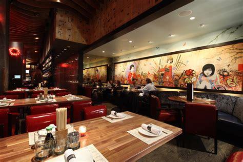 wallpaper design for restaurant decorating attractive japanese restaurant modern design