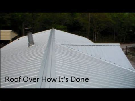 roof repair metal roof repair diy