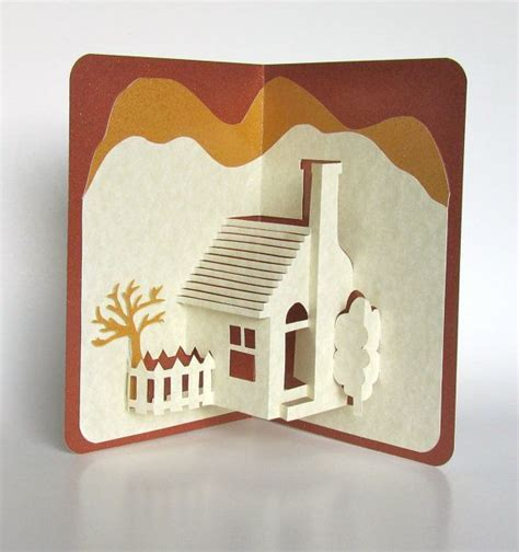3d cards to make at home home pop up 3d card home d 233 cor origamic architecture