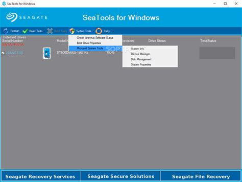 format seagate hard drive for windows 7 checkgett seatools for windows download
