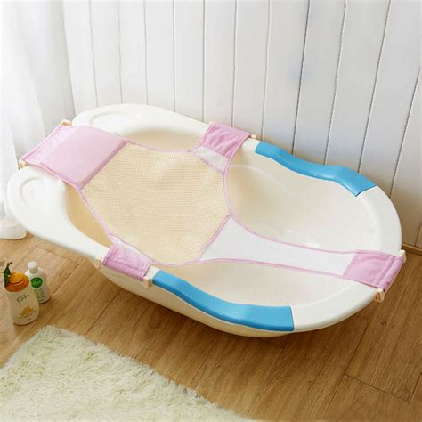 baby bathtub sling baby bathtub mesh seat adjustable support sling net infant