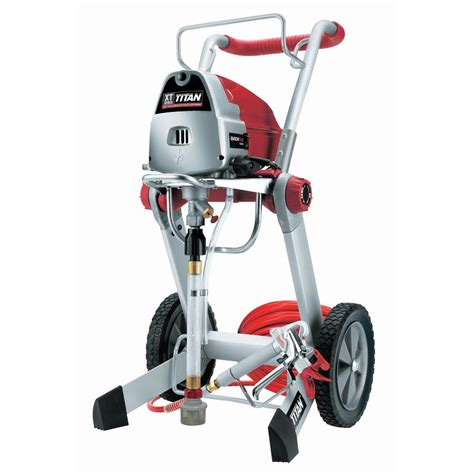 home depot titan airless paint sprayer titan xt290 paint sprayer 0516012 the home depot