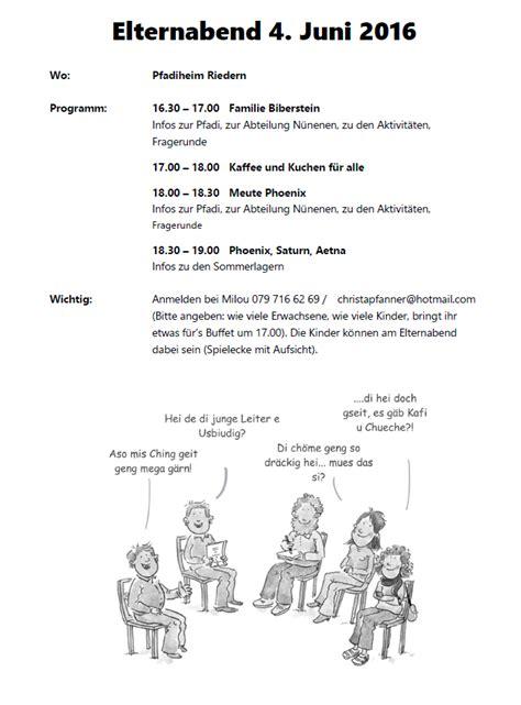 Muster Einladung Elternabend Gymnasium Einladung Elternabend Animefc Info