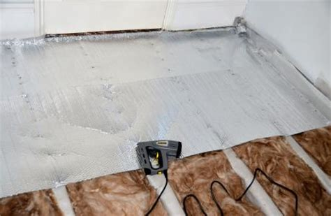 How To Lay A Loft Floor by Planning To Lay A New Carpet Save Energy Insulate