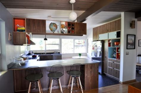 midcentury modern kitchen interior design ideas