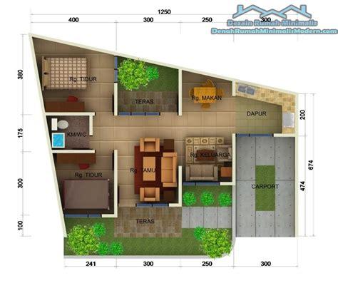 desain gambar denah rumah gambar denah rumah minimalis terbaru 2016 1 lantai desain