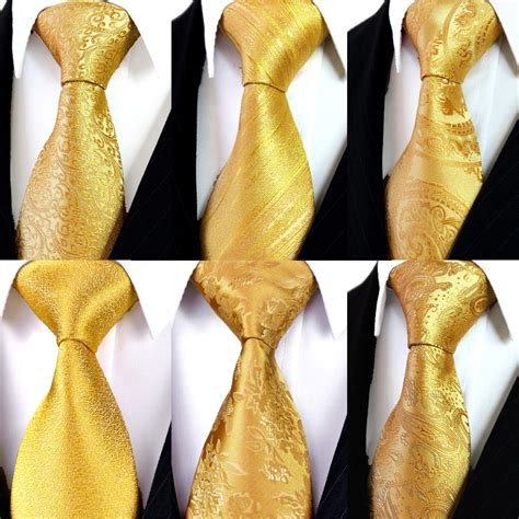 aliexpress buy solid floral paisley yellow gold mens