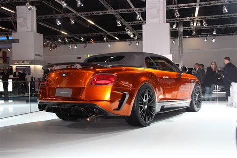 mansory bentley frankfurt 2015 mansory bentley continental gtc gtspirit