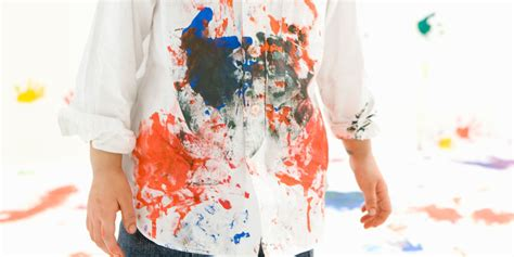 how to get paint out of clothing remove paint from fabric