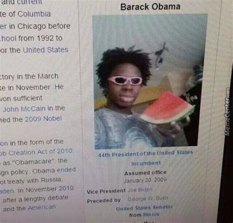 barack obama got a new wikipedia page by