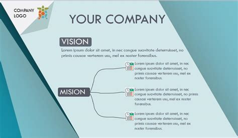 Simple Company Profile Powerpoint Template Free Download Company Profile Powerpoint Template Free
