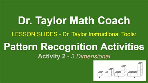 pattern recognition exercises pattern recognition activities and resources for lesson