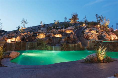 awesome pools 20 awesome swimming pools with water slides homes of the