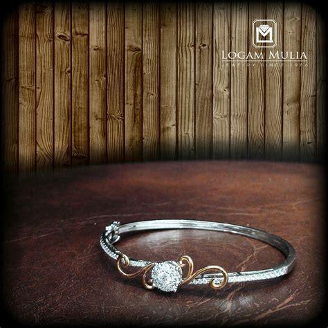Gelang Kaku jual gelang berlian kaku arbg 601671bh logammuliajewelry