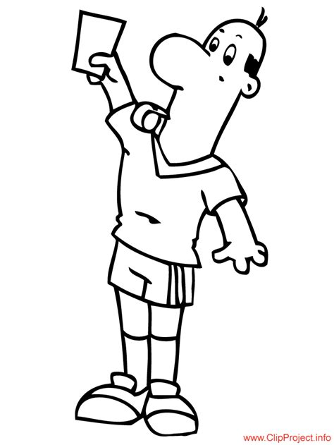 football referee coloring page how to draw referee