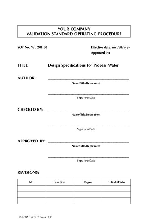 operational qualification protocol template design qualification protocol format validation standard