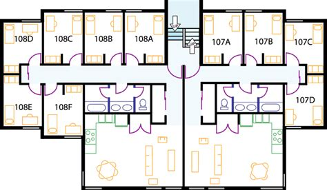 college dorm floor plans apartments the evergreen state college