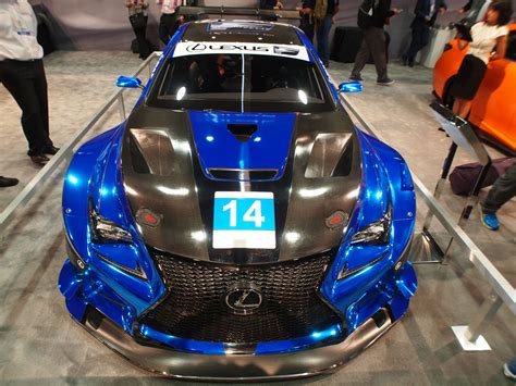 lexus racing car lexus to back new f performance racing team