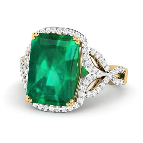 Wedding Rings Gemstones by Engagement Ring Wedding Ring Emerald