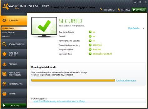 avast security v8 0 1489 300 with license 2015