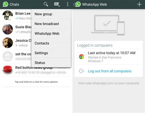 web whatsapp qr code android how to use whatsapp on a computer