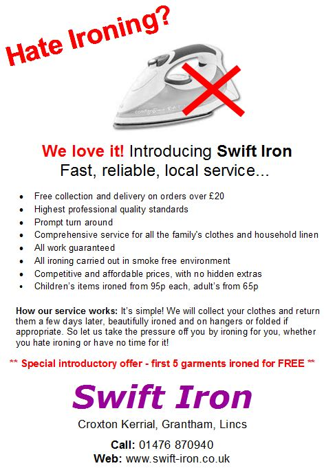 Ironing Service Flyer Template flyers for ironing service flyer www with laundry service