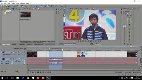 tutorial edit video dengan sony vegas pro cara edit video dengan teknik cut menggunakan sony vegas