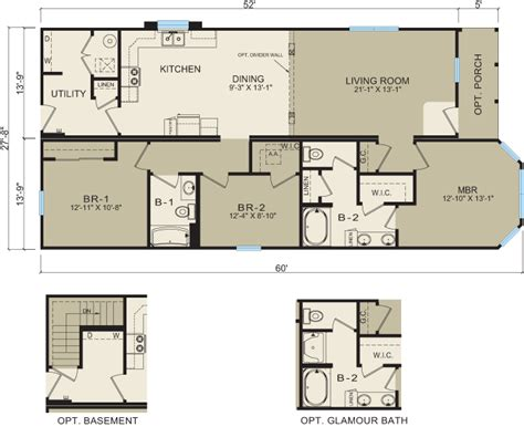 modular floor plans and prices michigan modular homes 3659 prices floor plans