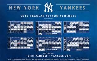 yankees home schedule new york yankees printable schedule yankees schedule
