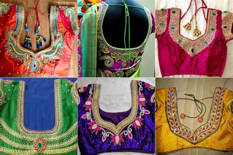 20 Maggam Work Designs For Blouses To Inspire You