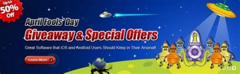 Wondershare Giveaway - wondershare april fool s day giveaway free imate mobilego