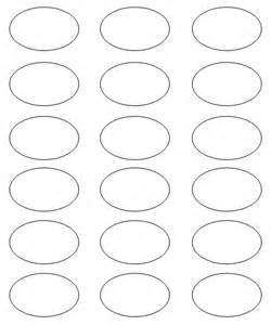 Oval Label Templates by Oval Template To Print Free Search Results Calendar 2015