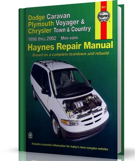 haynes dodge caravan plymouth voyager chrysler town country mini vans 1984 1995 auto repair manual dodge caravan plymouth voyager chrysler town i country 1996 2002 instrukcja napraw haynes