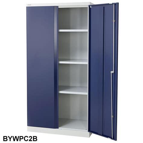 double door steel cabinet lower price steel hinged swing double door storage