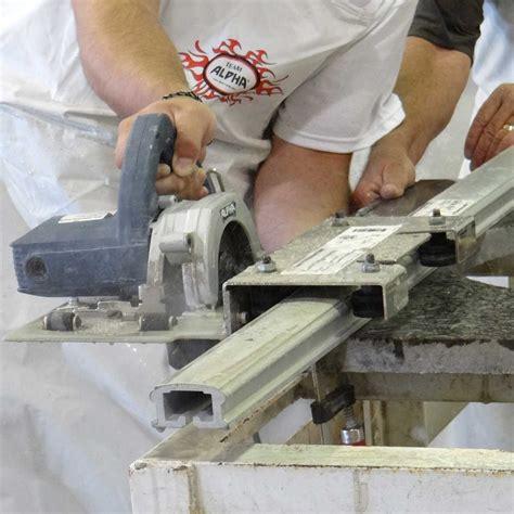 Tool To Cut Granite Countertops by Alpha Tools Countertop Trim Kit Contractors Direct
