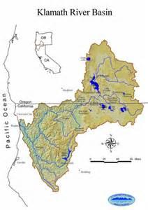 klamath oregon map usgs klamath basin studies