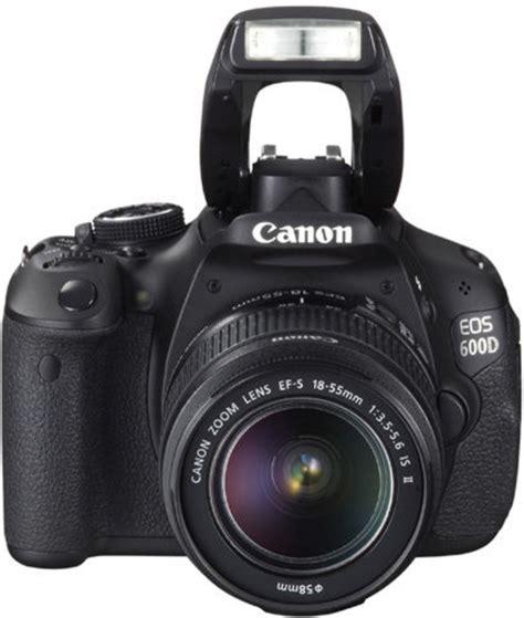 Kamera Canon 600d Kit 18 55 Is Ii canon eos 600 d kit ef s 18 55 mm is ii spiegelreflex