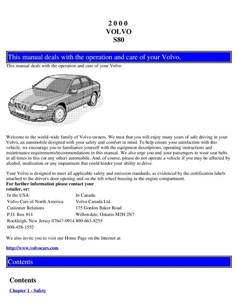 repair anti lock braking 2006 volvo s80 parental controls service manual 2000 volvo s80 free online manual service manual 2000 volvo s80 free online