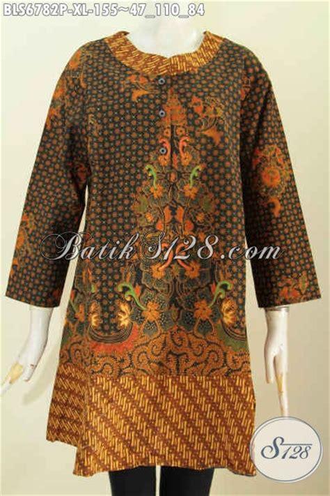 desain baju wanita keren baju blus istimewa motif klasik desain lengan pakai pita