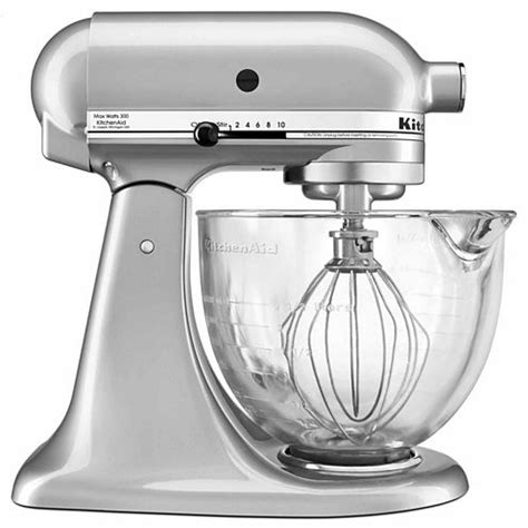 Kitchenaid Mixer Jcpenney Kitchenaid 5 Qt Tilt Stand Mixer With Glass Bowl And