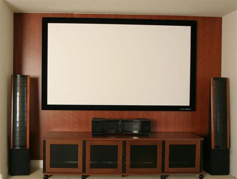 home theater screen from karbon home theater consulting in
