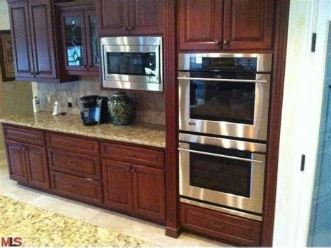 microwave over double ovens design ideas double ovens and a microwave kitchen ideas pinterest