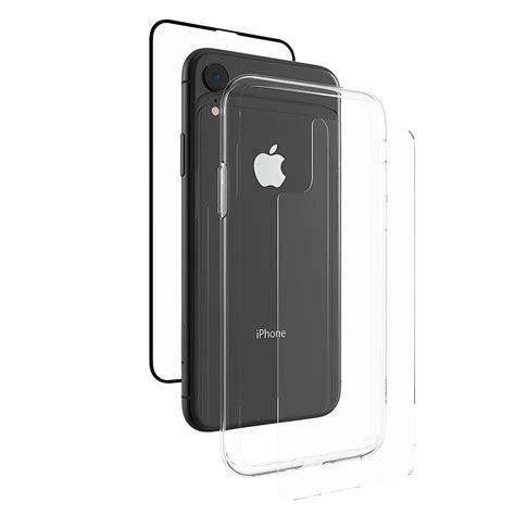комплект защитных стекол бампер zagg invisibleshield glass 360 для iphone xr купить в киеве