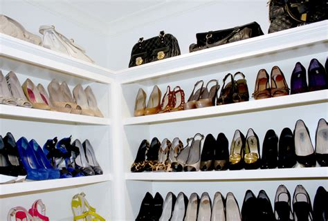 details for custom cabinetry for shoes jewelry