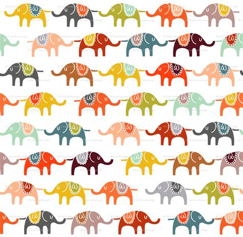 pattern elephant background elephant cartoon background google search art design
